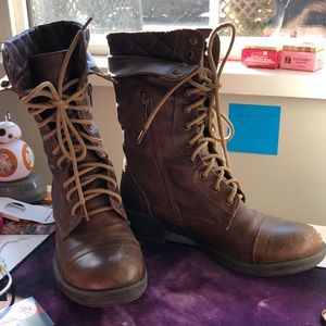 """Lace Up """"Steampunk"""" boots"""